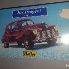 Maquetas: COCHE PEUGEOT DE HELLER . Lote 194598611