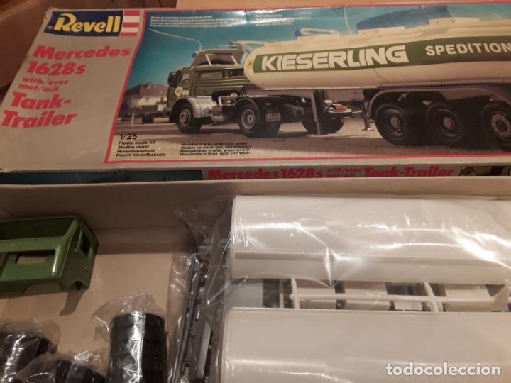 Maquetas: Camión Mercedes 1628 s tank, año 82 Revell. 1/25 - Foto 2 - 194633935