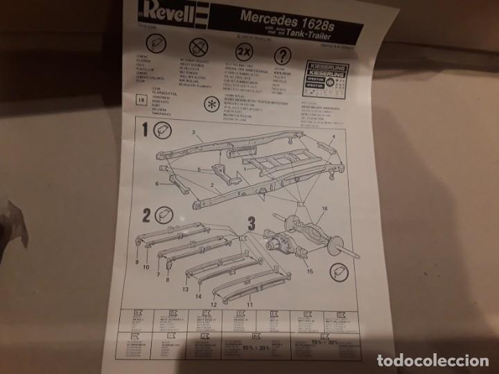 Maquetas: Camión Mercedes 1628 s tank, año 82 Revell. 1/25 - Foto 11 - 194633935