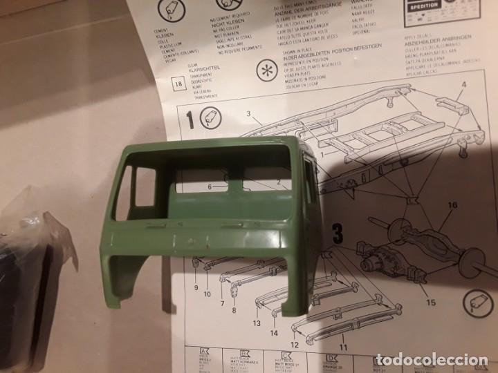 Maquetas: Camión Mercedes 1628 s tank, año 82 Revell. 1/25 - Foto 12 - 194633935