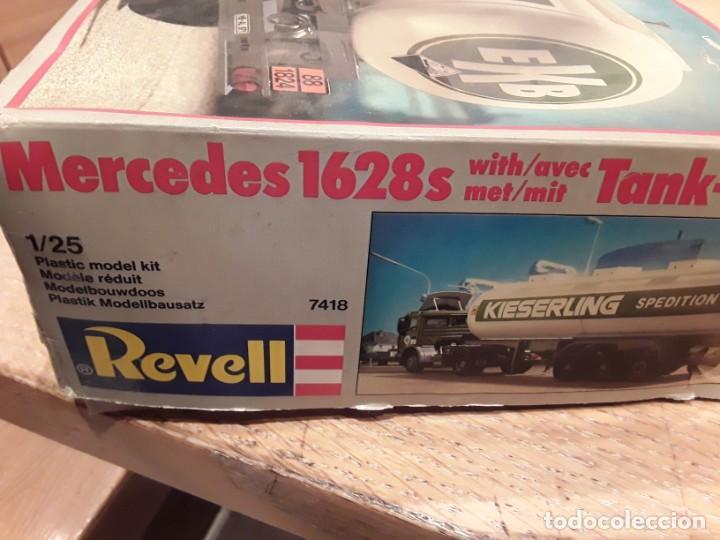Maquetas: Camión Mercedes 1628 s tank, año 82 Revell. 1/25 - Foto 14 - 194633935