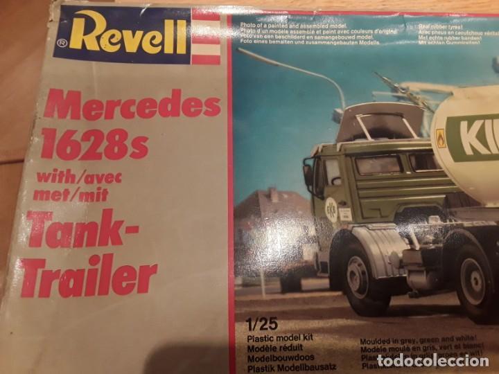 Maquetas: Camión Mercedes 1628 s tank, año 82 Revell. 1/25 - Foto 16 - 194633935