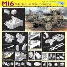 Maquetas: M16 MULTIPLE GUN MOTOR CARRIAGE DRAGON 1/35. Lote 194640921