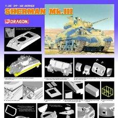 Maquetas: SHERMAN MK. III DRAGON 1/35. Lote 194641021