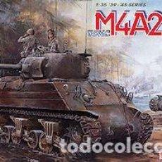 Maquetas: USMC M4A2 LATE PTO DRAGON 1/35. Lote 194641106