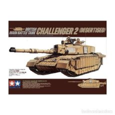 Maquetas: BRITISH MAIN BATTLE TANK CHALLENGER 2 (DESERTISED) TAMIYA 1/35. Lote 194641388