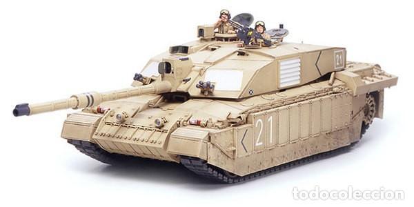 Maquetas: British Main Battle Tank Challenger 2 (desertised) TAMIYA 1/35 - Foto 2 - 194641388