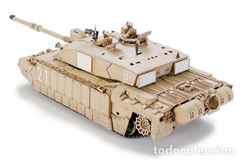 Maquetas: British Main Battle Tank Challenger 2 (desertised) TAMIYA 1/35 - Foto 3 - 194641388