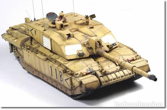 Maquetas: British Main Battle Tank Challenger 2 (desertised) TAMIYA 1/35 - Foto 4 - 194641388