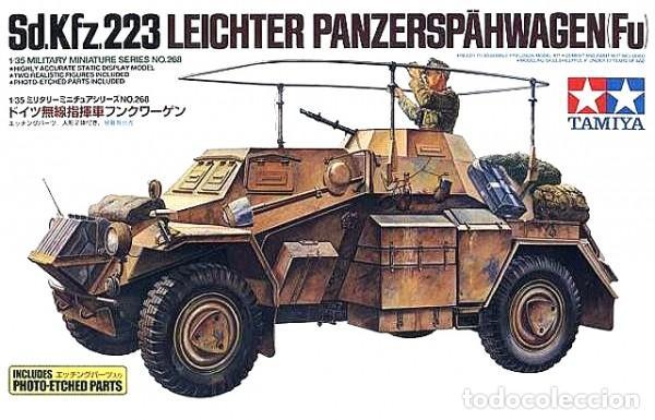 SD.KFZ.223 LEICHTER PANZERSPÄHWAGEN(FU) INCLUDES PHOTO-ETCHED PARTS TAMIYA 1/35 (Juguetes - Modelismo y Radiocontrol - Maquetas - Militar)