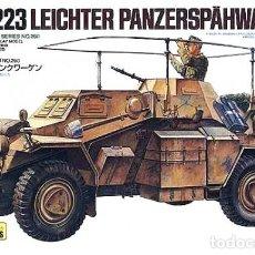 Maquetas: SD.KFZ.223 LEICHTER PANZERSPÄHWAGEN(FU) INCLUDES PHOTO-ETCHED PARTS TAMIYA 1/35. Lote 194641552
