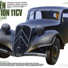 Maquetas: CITROEN TRACTION 11CV - STAFF CAR TAMIYA 1/35. Lote 194641751