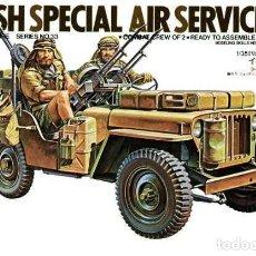 Maquetas: BRITISH SAS SPECIAL AIR SERVICE JEEP TAMIYA 1/35. Lote 194641941