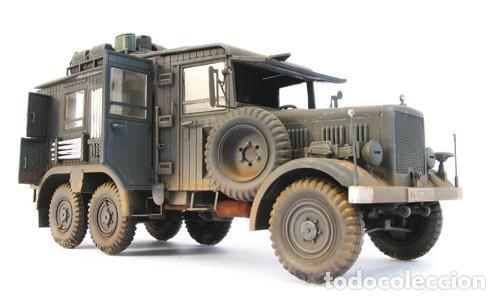 Maquetas: Einheitsdiesel Kfz. 61 Fernsprechbetriebskraftwagen (heavy telephone exchange van) IBG 1/35 - Foto 2 - 194645358