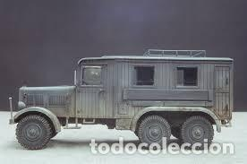 Maquetas: Einheitsdiesel Kfz. 61 Fernsprechbetriebskraftwagen (heavy telephone exchange van) IBG 1/35 - Foto 3 - 194645358