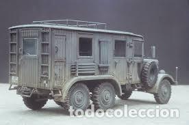 Maquetas: Einheitsdiesel Kfz. 61 Fernsprechbetriebskraftwagen (heavy telephone exchange van) IBG 1/35 - Foto 4 - 194645358