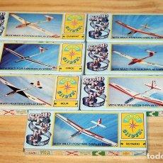 Maquetas: LOTE 7 MAQUETAS SNAP TOGETHER - GAMES COLLECTION - NUEVAS Y TODAS DIFERENTES. Lote 194712547