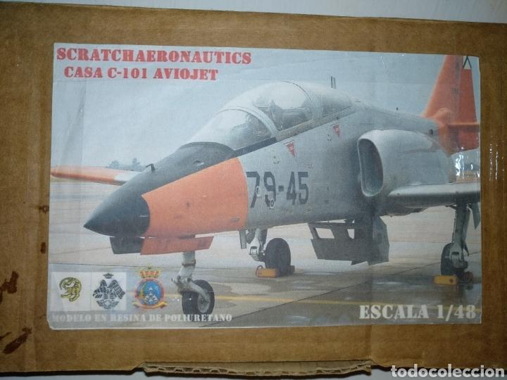 CASA C-101 AVIOJET. SCRATCH AERONÁUTICA. ESCALA 1/48. (Juguetes - Modelismo y Radio Control - Maquetas - Aviones y Helicópteros)