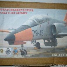 Maquetas: CASA C-101 AVIOJET. SCRATCH AERONÁUTICA. ESCALA 1/48.. Lote 194725091