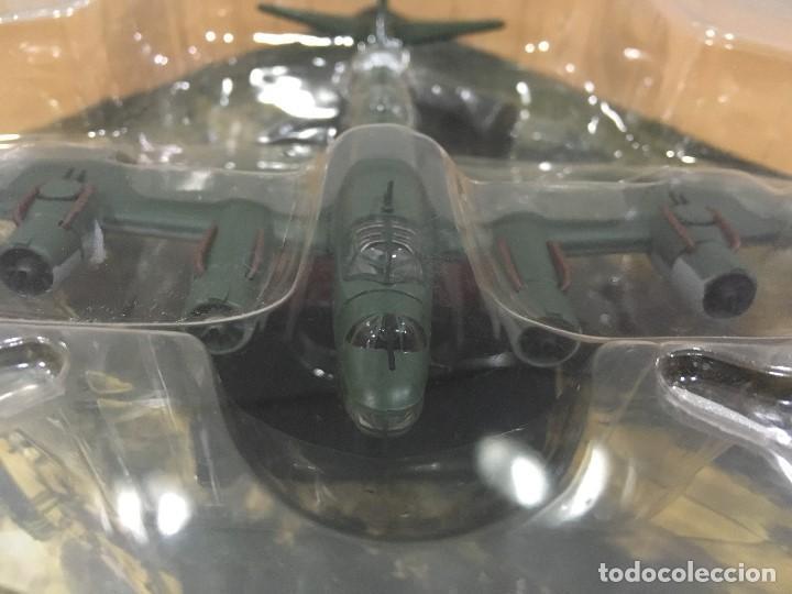 Maquetas: BOMBARDEROS II GM DE ALTAYA (2008) - REGIA AERONÁUTICA ITALIANA - CUATRIMOTOR PIAGGIO P.108 B. 1/144 - Foto 5 - 194730398