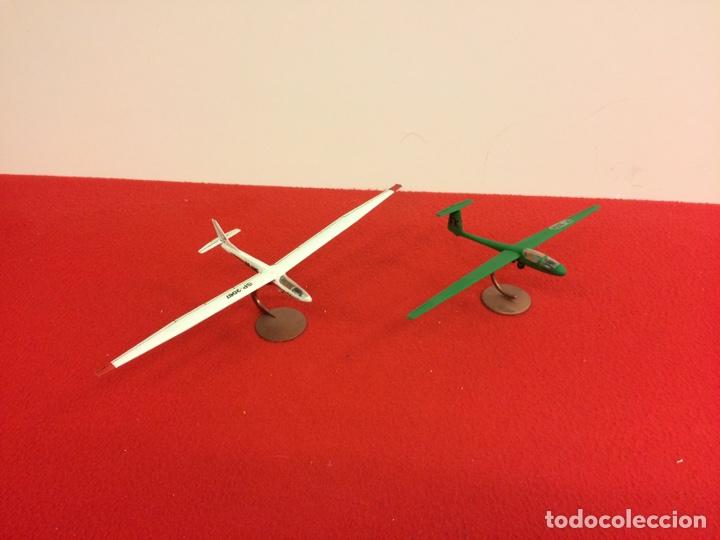 2 PLANEADORES CIVILES (Juguetes - Modelismo y Radio Control - Maquetas - Aviones y Helicópteros)