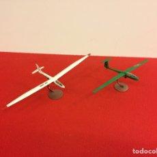 Maquetas: 2 PLANEADORES CIVILES. Lote 194760780