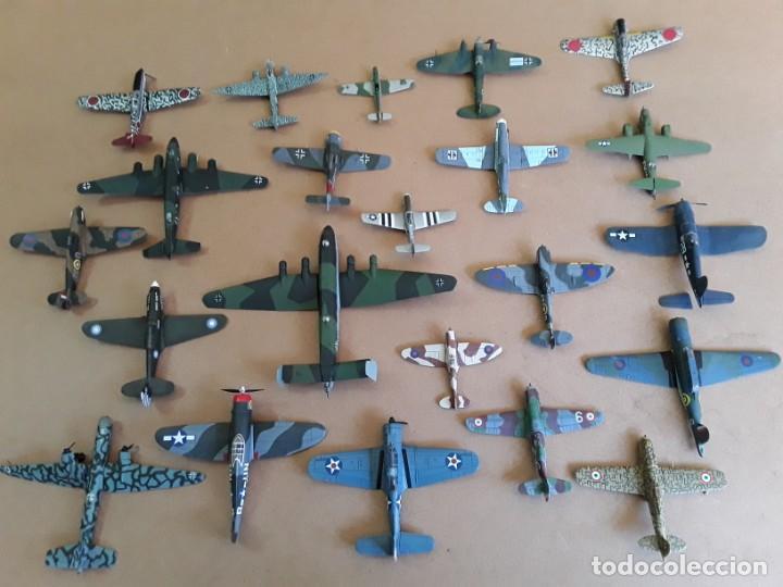 LOTE DE 22 MAQUETAS AVIONES (Juguetes - Modelismo y Radio Control - Maquetas - Aviones y Helicópteros)