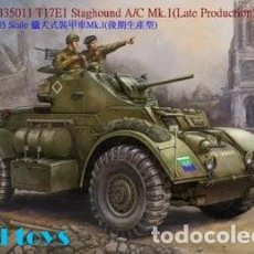 Maquettes: STAGHOUND A/C MK.I LATE PRODUCTION BRONCO 1/35. Lote 194896146