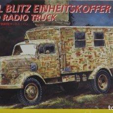 Maquetas: OPEL BLITZ EINHEITSKOFFER FIELD RADIO TRUCK ITALERI 1/35. Lote 194896668