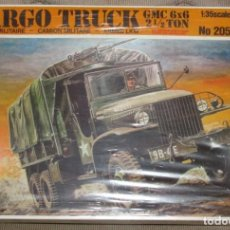 Maquetas: CARGO TRUCK GMC 6X6 2 1/2 TON ITALERI 1/35. Lote 194896912