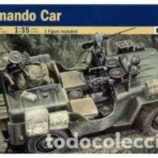 Maquetas: COMMANDO CAR ITALERI 1/35. Lote 194896963