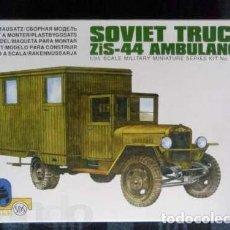 Maquetas: SOVIET TRUCK ZIS-44 AMBULANCE UKRANIE SDS 1/35. Lote 194897665