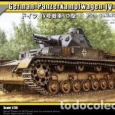 Maquetas: GERMAN PANZERKAMPFWAGEN IV AUSF D TRISTAR 1/35. Lote 194897852