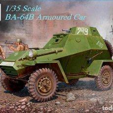 Maquetas: BA-64B ARMOURED CAR VISION 1/35. Lote 194898511