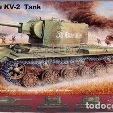 Maquetas: RUSSIA KV-2 TANK TRUMPETER 1/35. Lote 207190407
