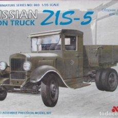 Maquetas: ZIS-5 TON TRUCK MALAN 1/35. Lote 194898913