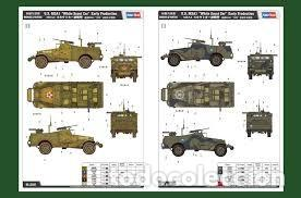 "Maquetas: US M3A1 ""WHITE SCOUT CAR"" EARLY PRODUCTION HOBBY BOSS 1/35 - Foto 2 - 194899121"