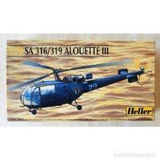 Maquetas: SA.316 / SA.319 ALOUETTE III HELLER 1/35. Lote 194899672
