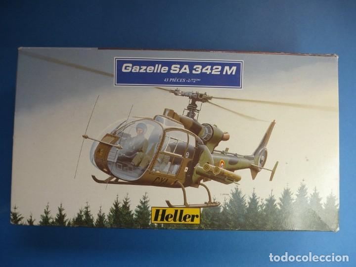 GAZELLE SA.342M HELLER 1/35 (Juguetes - Modelismo y Radiocontrol - Maquetas - Militar)