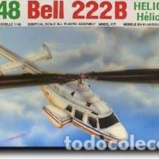 Maquetas: BELL-222B CIVIL HOBBYCRAFT 1/48. Lote 194900817