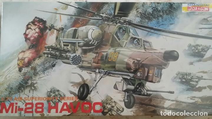 MI-28 HAVOC DRAGON 1:72 (Juguetes - Modelismo y Radiocontrol - Maquetas - Militar)