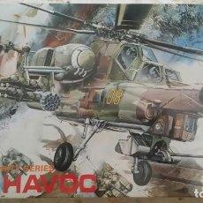 Maquetas: MI-28 HAVOC DRAGON 1:72. Lote 194901266