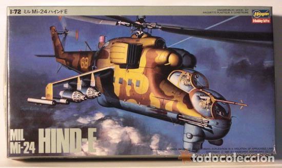 MIL MI-24 HIND-A HASEGAWA 1/72 (Juguetes - Modelismo y Radiocontrol - Maquetas - Militar)