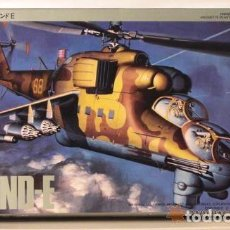 Maquetas: MIL MI-24 HIND-A HASEGAWA 1/72. Lote 194901445