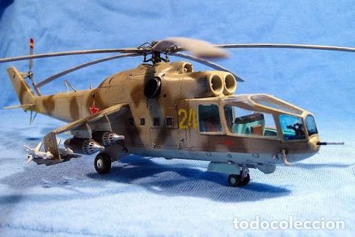 Maquetas: Mil Mi-24 Hind-A HASEGAWA 1/72 - Foto 2 - 194901445