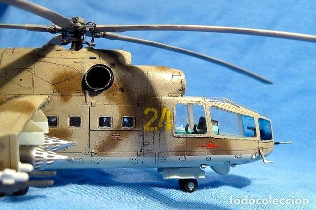 Maquetas: Mil Mi-24 Hind-A HASEGAWA 1/72 - Foto 3 - 194901445