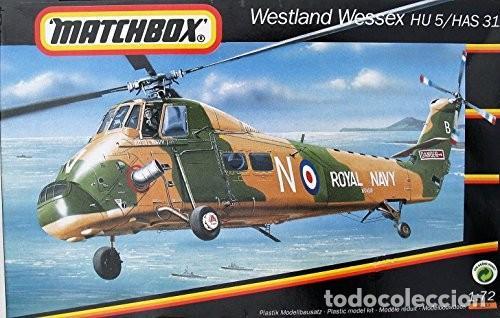 WESTLAND WESSEX HU 5/HAS 31 MATCHBOX 1/72 (Juguetes - Modelismo y Radiocontrol - Maquetas - Militar)