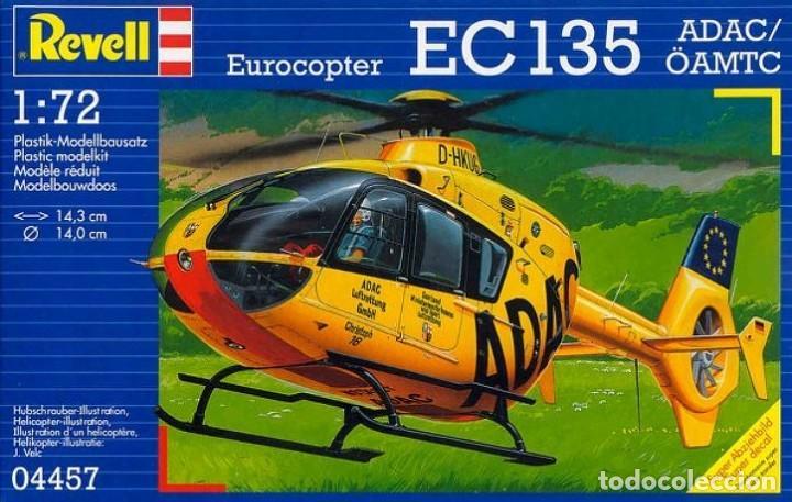 EUROCOPTER EC135 HELICOPTER ADAC REVELL 1/72 (Juguetes - Modelismo y Radiocontrol - Maquetas - Militar)
