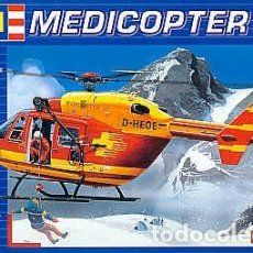 Maquetas: MEDICOPTER 117 D-HEOE REVELL 1/72. Lote 194903203
