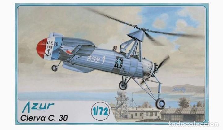 CIERVA C.30 AZUR 1/72 (Juguetes - Modelismo y Radiocontrol - Maquetas - Militar)